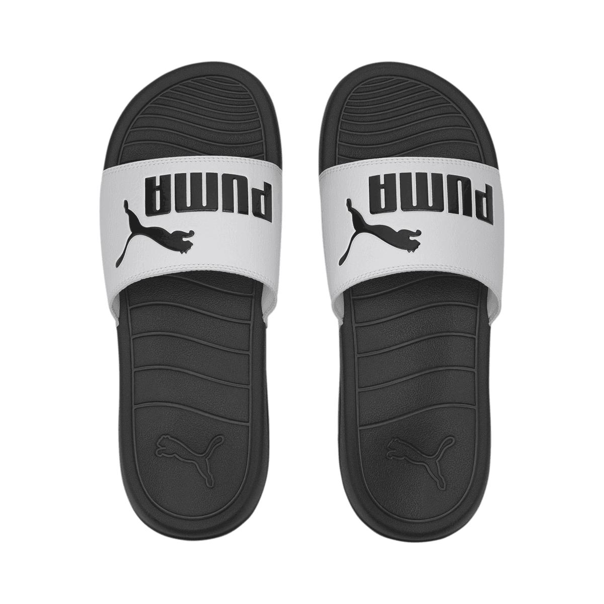 Sandales de plage Puma Popcat 20 blanc / noir