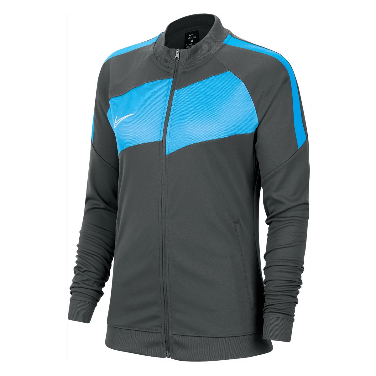Nike dames jack Academy Pro Knit Jacket antracietblauw