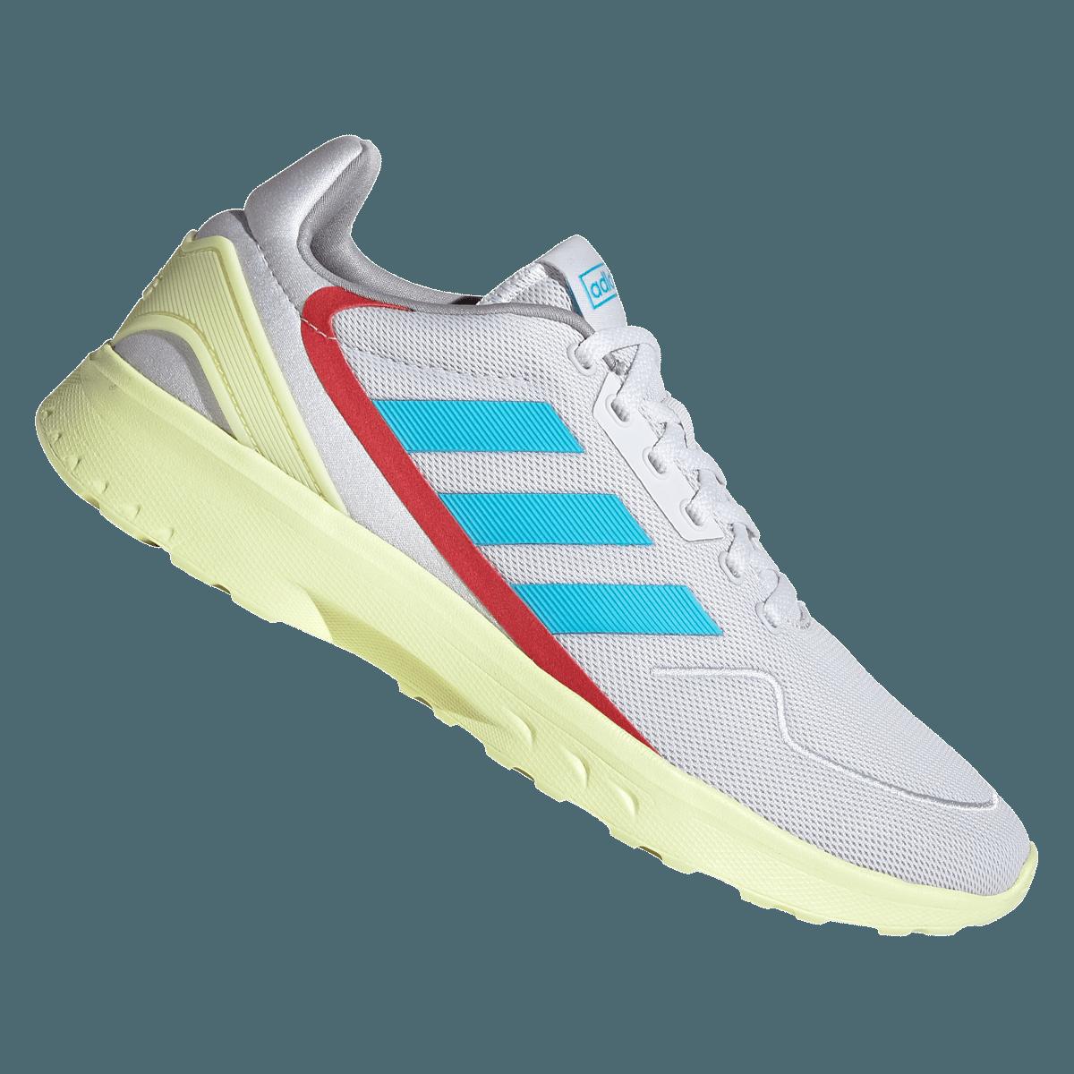 adidas lichtblauwe schoenen