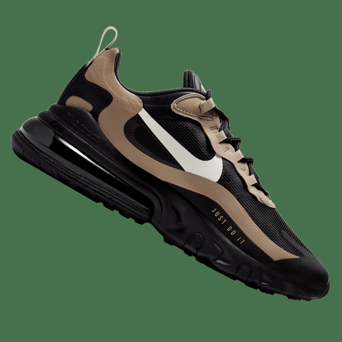 Nike Freizeitschuh Air Max 270 React schwarzgold