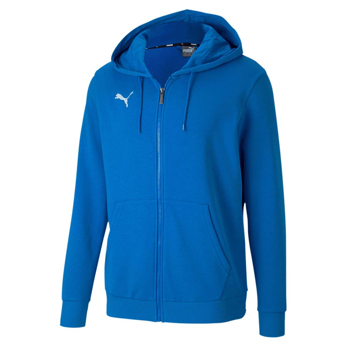 Puma Kapuzenjacke Team Goal 23 Casuals Hooded Jacket blau