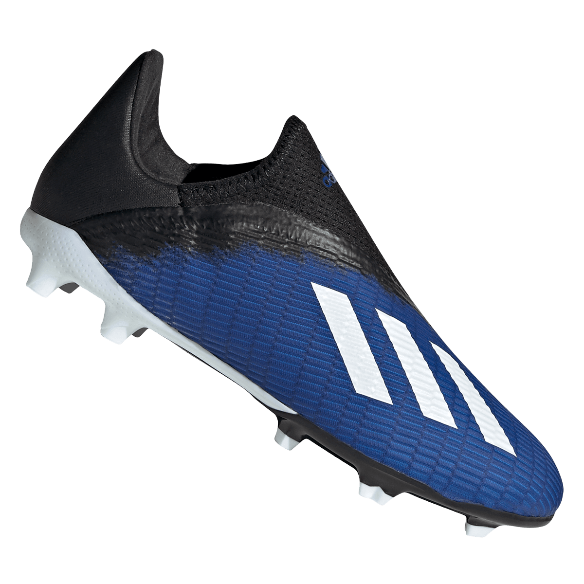 adidas Kinder Fußballschuh X 19.3 LL FG J dunkelblauschwarz