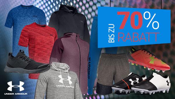 UNDER ARMOUR SALE: Bis zu -70%
