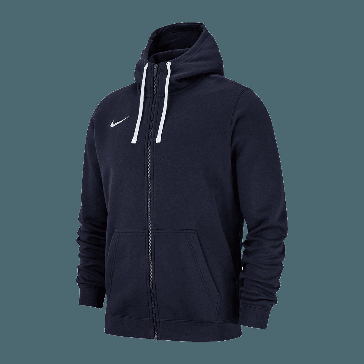 Nike Kapuzenjacke Team Club 19 Fleece Hoody dunkelblauweiß