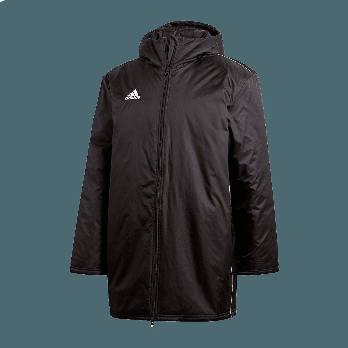 adidas Condivo 18 Coat kapucnis télikabát feketefehér