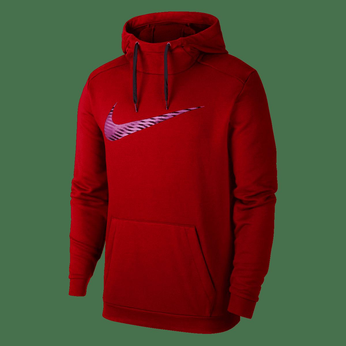 Nike hoodie Swoosh PO hoody roodzwart