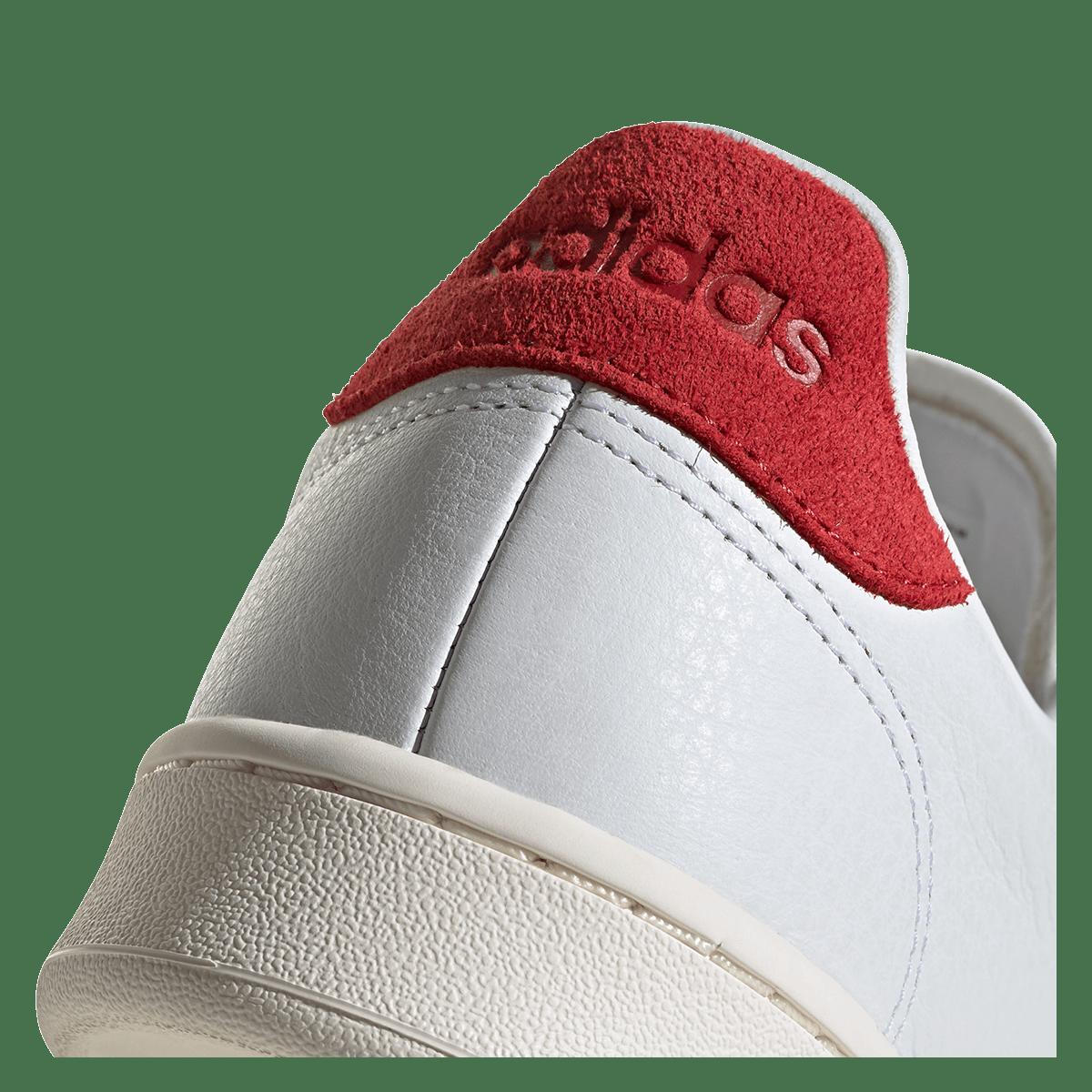 adidas Freizeitschuh Advantage weißrot Fussball Shop