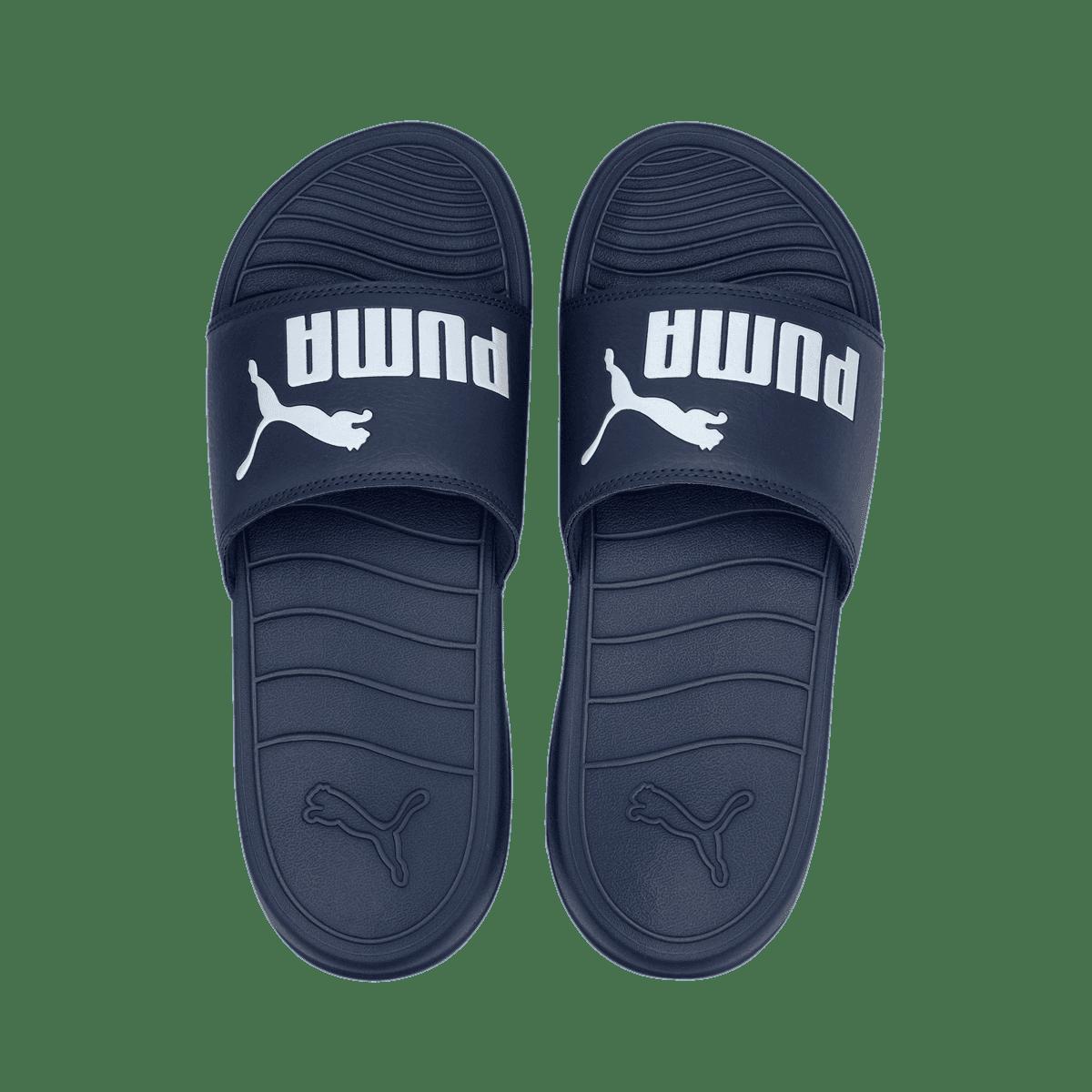 Sandales de plage Puma Popcat 20 bleu foncé / blanc