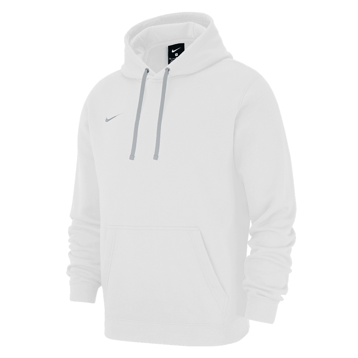 sweat à capuche en polaire Nike Team Club 19 blanc