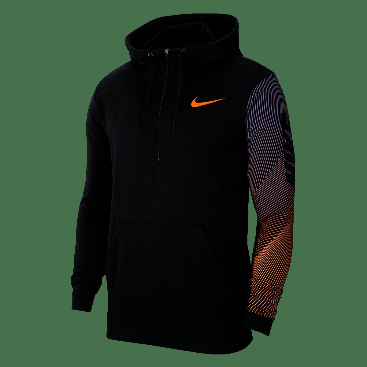 Sweat à capuche Nike Fleece Training Hoody LV 2.0 noirrouge Boutique football