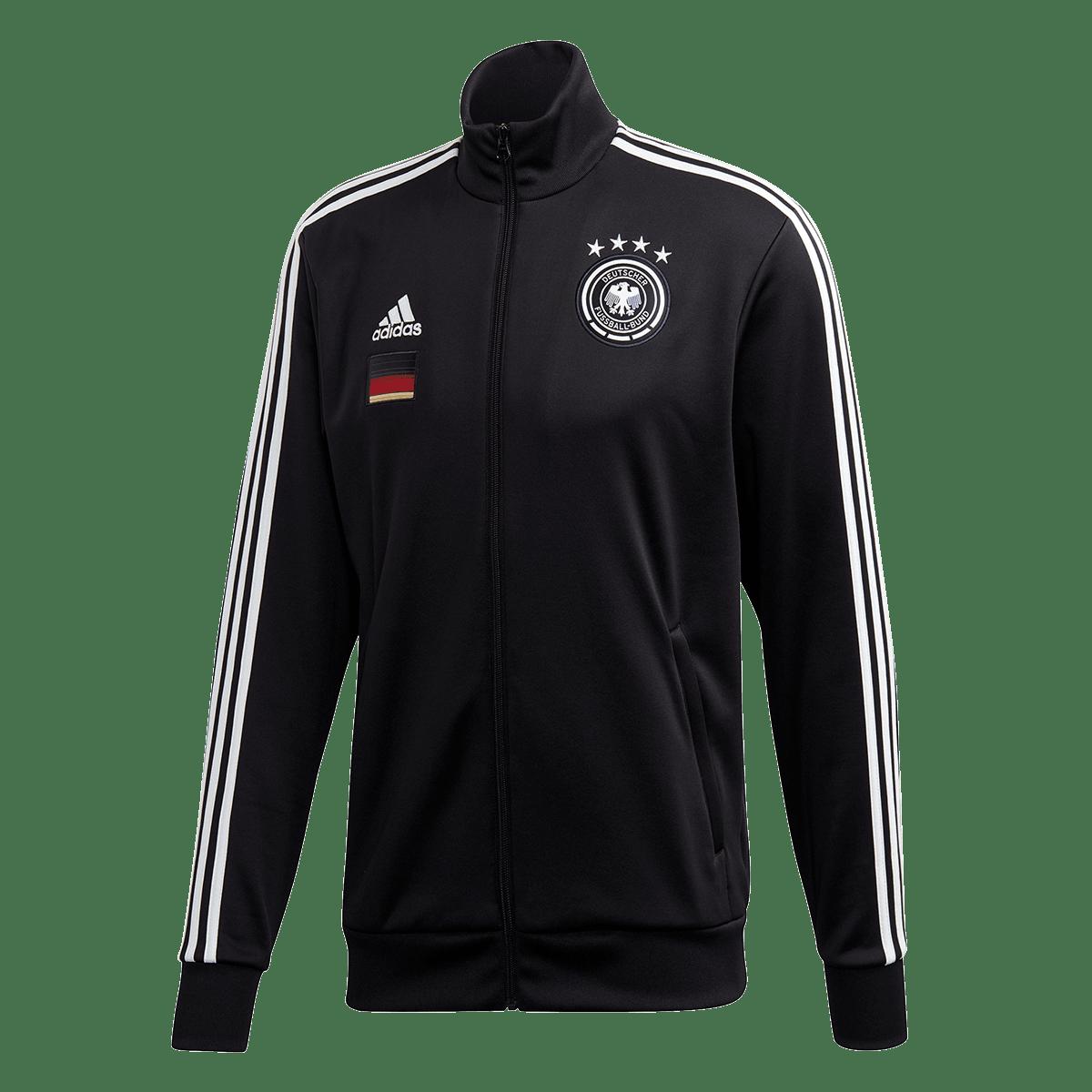 adidas Deutschland Trainingsjacke Track Top 3S Jacket schwarzweiß