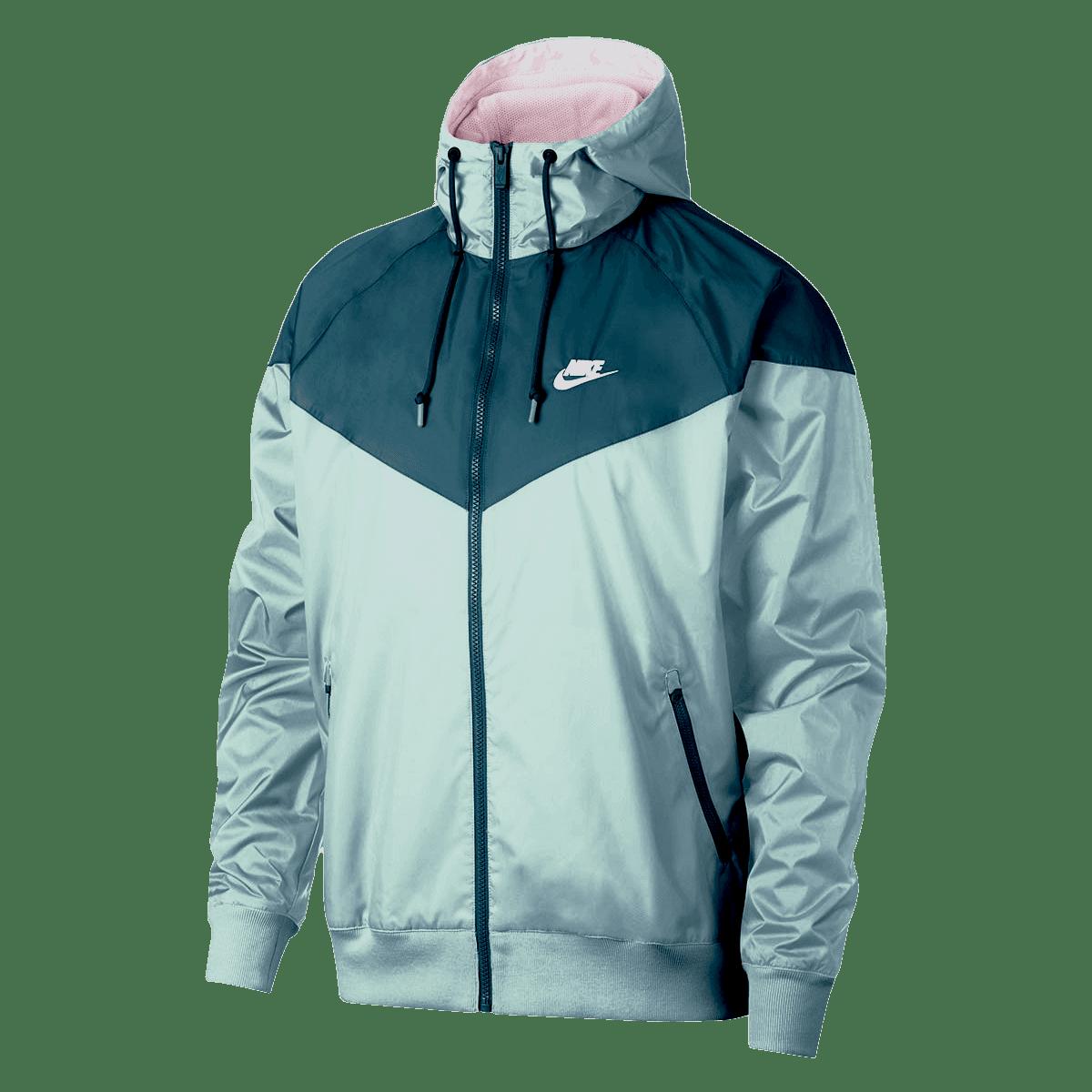 Nike Sportwear Windrunner kabát kékfehér Futball áruház