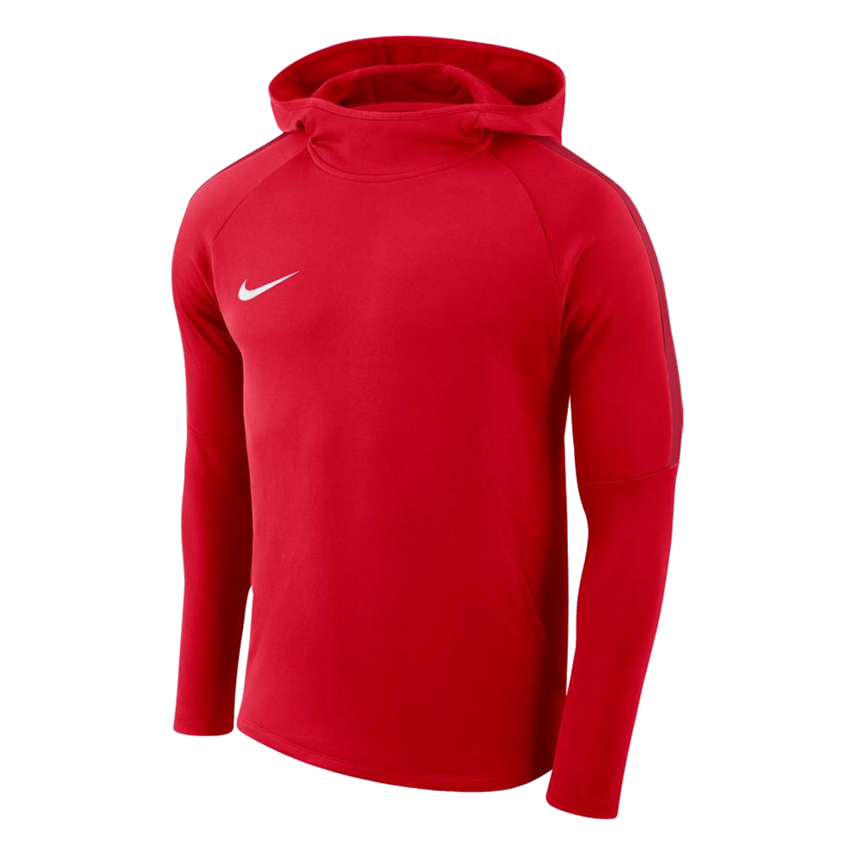 Nike trui met capuchon Academy 18 hoody roodwit Voetbal shop