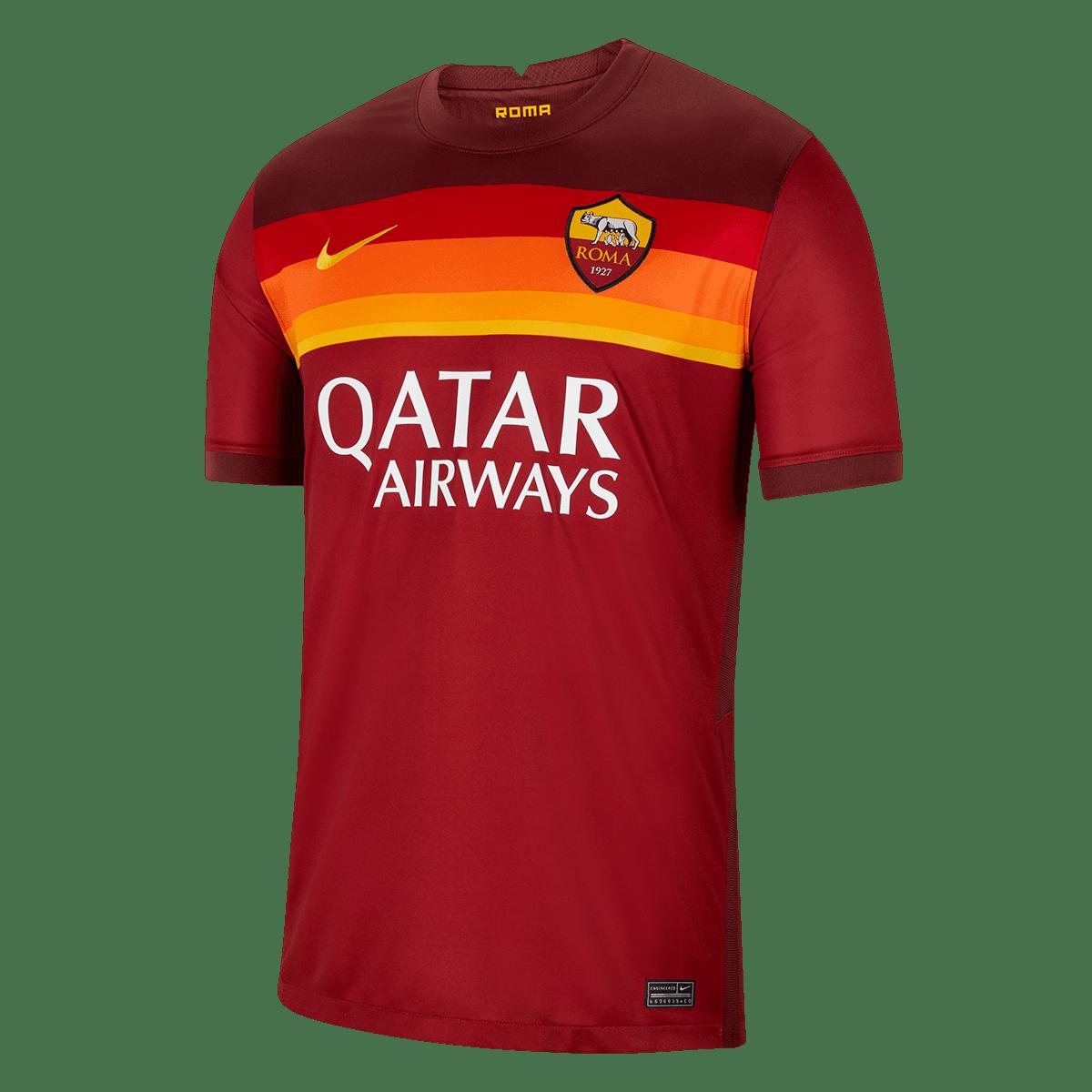 Nike AS Roma Herren Heim Trikot 2020/21 rot/gold - Fussball Shop