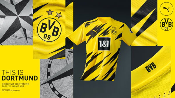CRAFTED FROM CULTURE: BVB Home Kit 2020/21