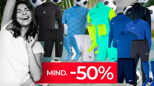 TEAMSPORT SUMMER: Mind. -50% auf TOP-10 Sets