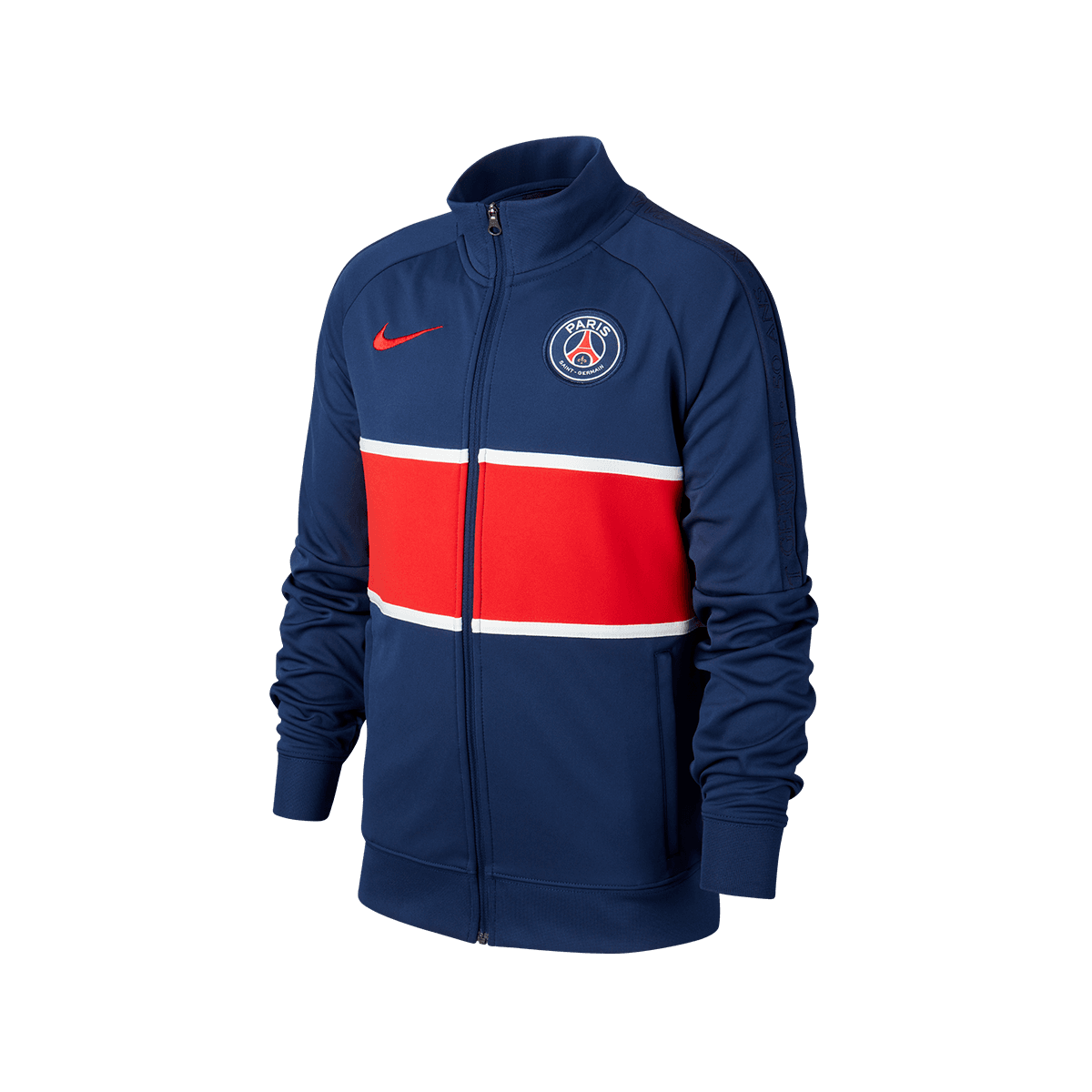 Nike Paris St. Germain Kinder Fanjacke I96 Anthem Jacket dunkelblaurot
