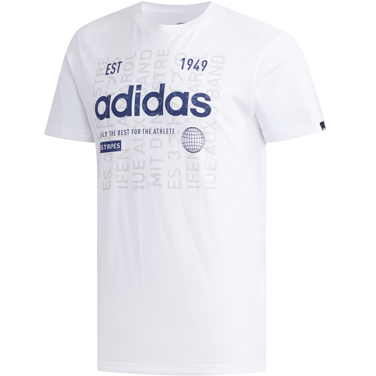 T shirt adidas International blancbleu