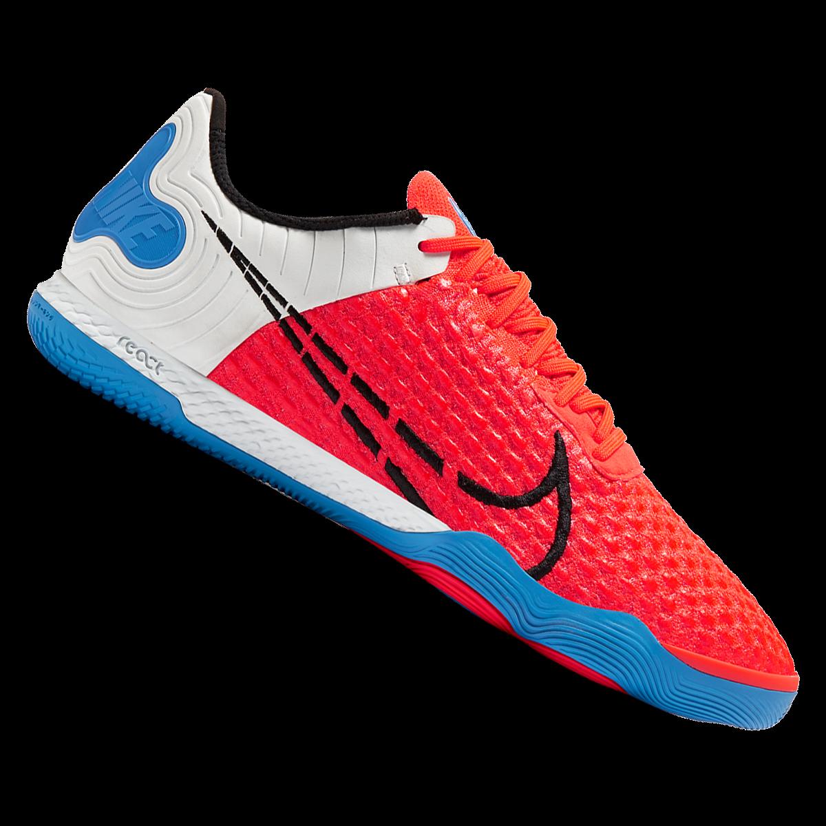 Nike Buty Halowe React Gato Czerwone Czarne Sklep Pilkarski