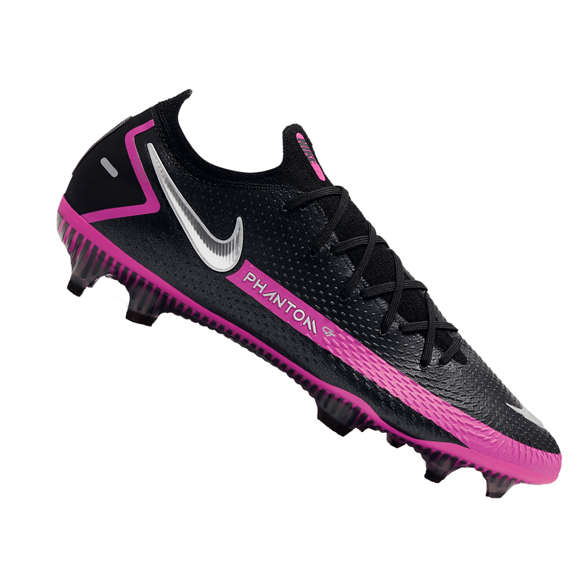 Chaussure de football Nike Phantom GT Elite FG noir/rose ...