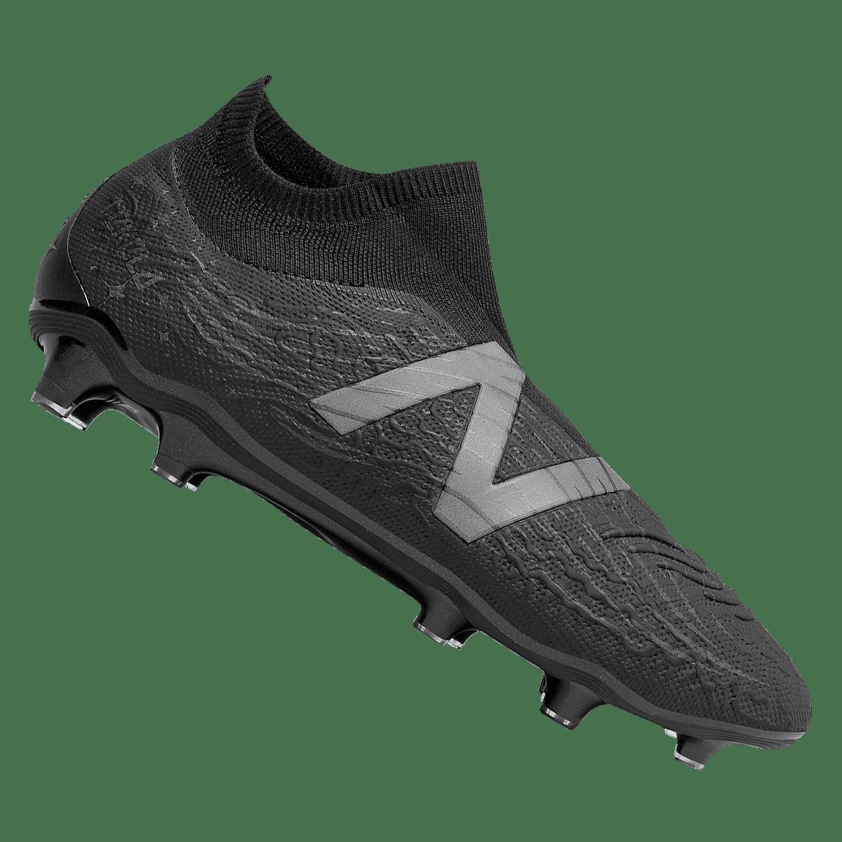Chaussures de football New Balance Tekela v3 Pro FG Blackout noir/gris