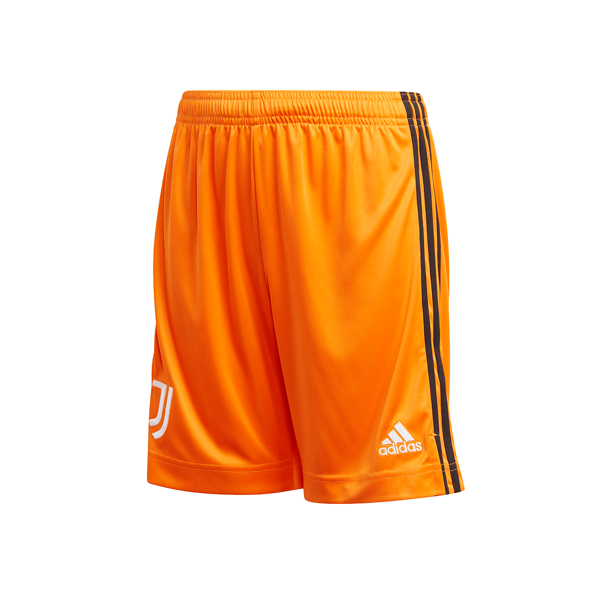 adidas Juventus Turin Kinder 3rd Short 202021 orangeweiß