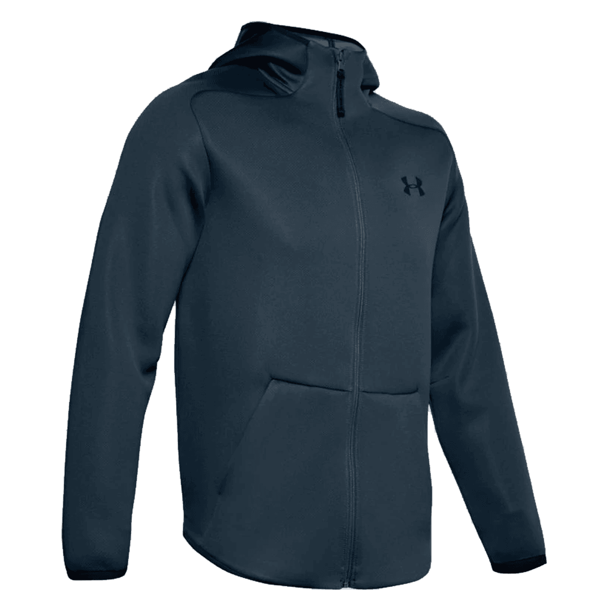 Under Armour Move FZ Jacket capuchonjack donkerblauw/zwart