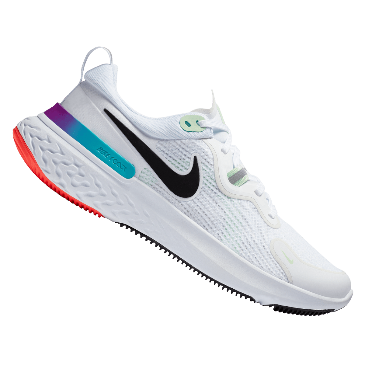 Nike Laufschuh React Miler weiß/schwarz