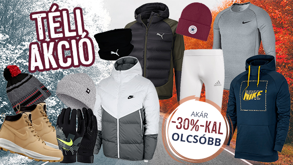 WINTER SALE: min. 10% max. 30%