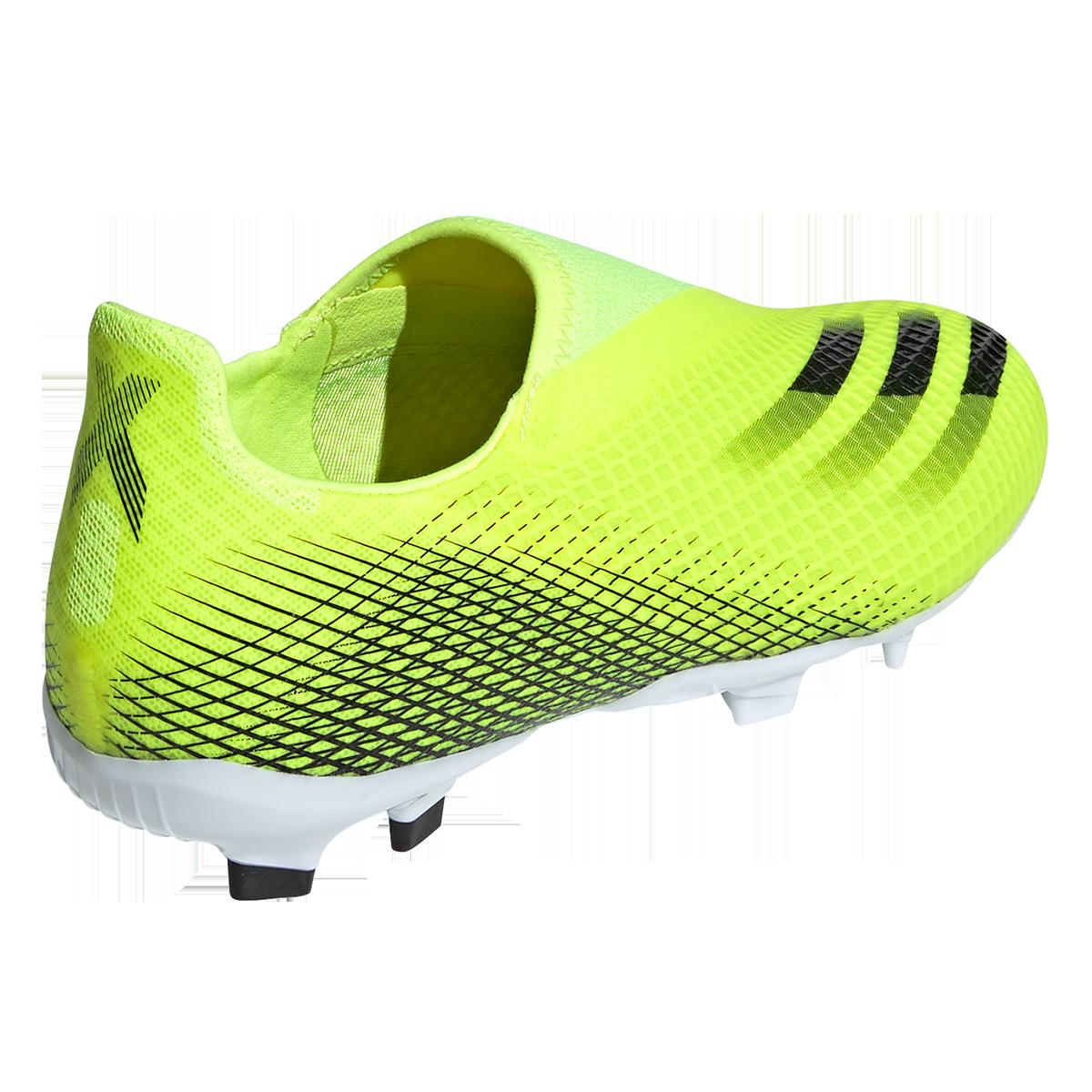 adidas chaussure de football enfant X Ghosted.3 FG LL jaune fluo ...