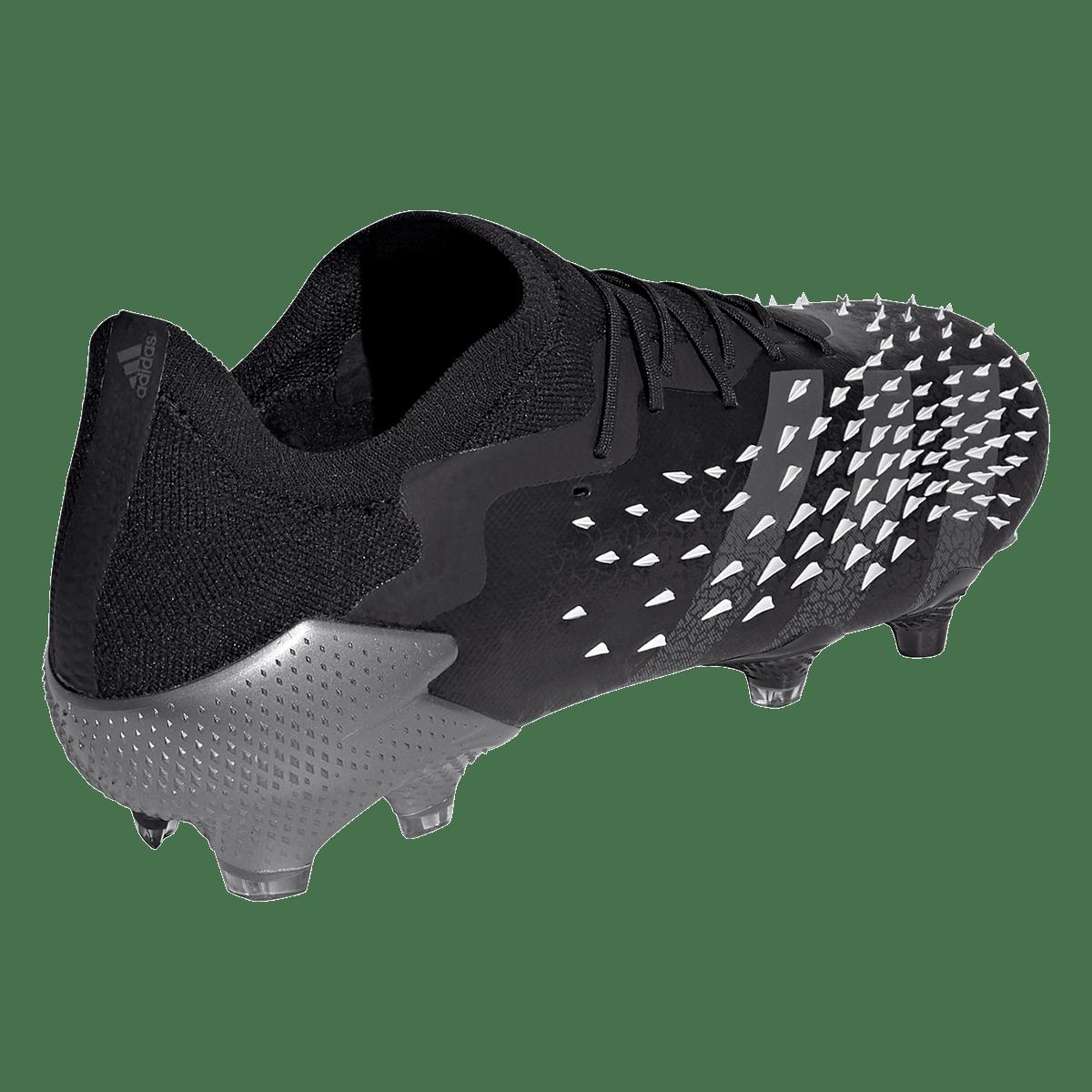 Chaussures de football adidas Predator Freak .1 L FG noir/gris ...