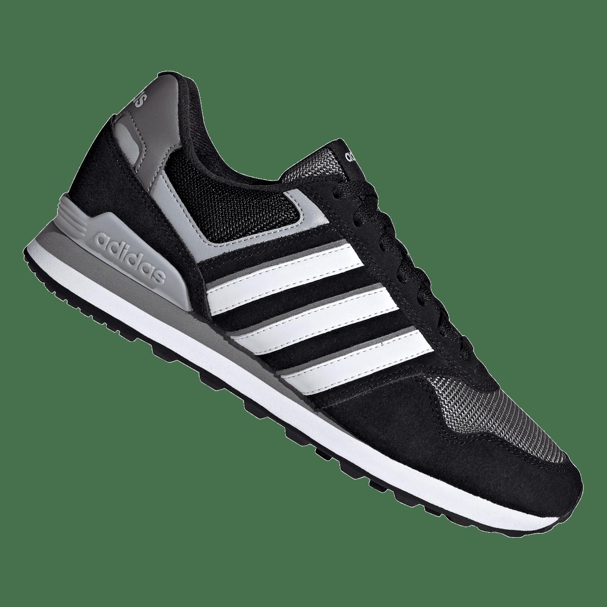 Chaussures de loisirs adidas 10K noir/blanc
