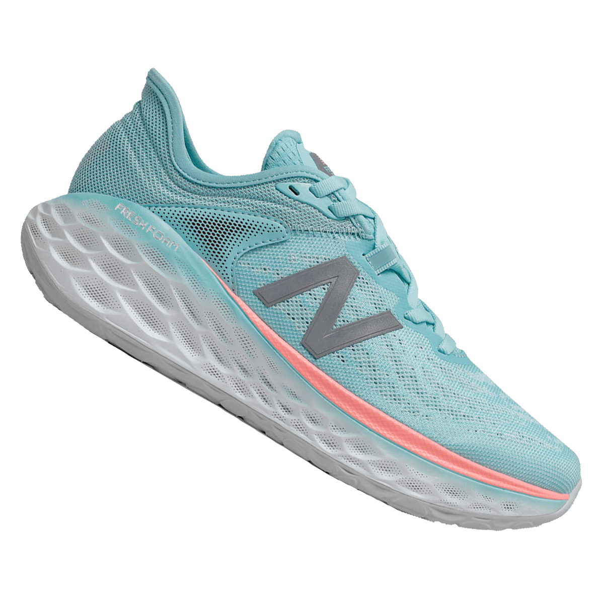 New Balance chaussures running femme Fresh Foam More turquoise / gris
