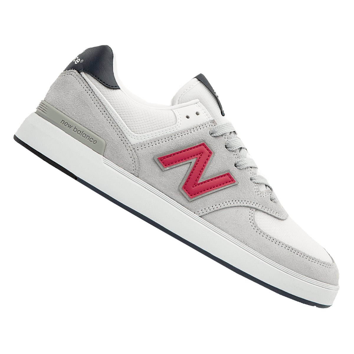 Chaussures de loisirs New Balance All Coasts 574 gris clair/rouge ...