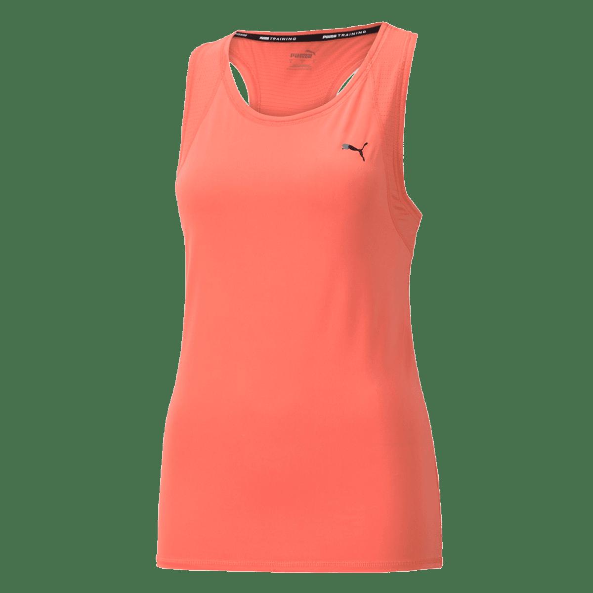 Débardeur Puma pour femme Train Favorite Tank orange clair/noir
