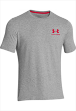 Under Armour Sport style Left Chest Lock-Up- grey