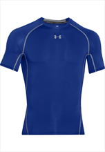 Under Armour SS HeatGear Compression Top-blue