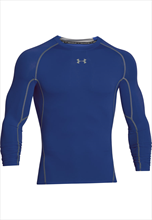 Under Armour Funktionsshirt HeatGear Compression Top blau