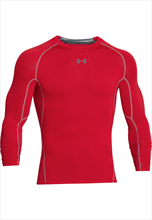 Under Armour funkcionalna majica HeatGear Compression Top rdeča