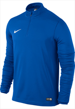 Nike Academy 16 Midlayer LS Top- blue/white