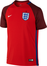 Nike Kids EURO 2016 England Away Shirt- red/blue