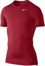 Nike Kurzarm Funktionsshirt Pro Dry Fit Compression SS rot