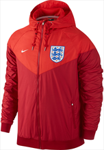Nike England Fanjacke Authentic Windrunner rot/orange
