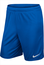 Nike Park II Knit Shorts- without inner slip- blue/white