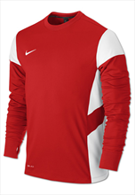 Nike Trainingspullover LS Academy 14 Midlayer Top rot/weiß