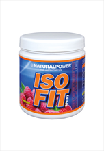 Natural Power Iso Fit Sport Elektrolyt drink 400g