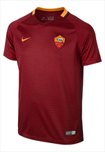 Nike AS Roma Kinder Heim Trikot 2016/17 rot/orange