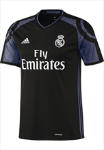 adidas Real Madrid Champions League Trikot 2016/17 schwarz/violett