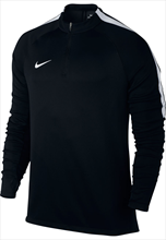 Nike Trainings Top Squad Dril Top schwarz/weiß