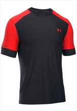 Under Armour Shirt CoolSwitch Pitch schwarz/rot